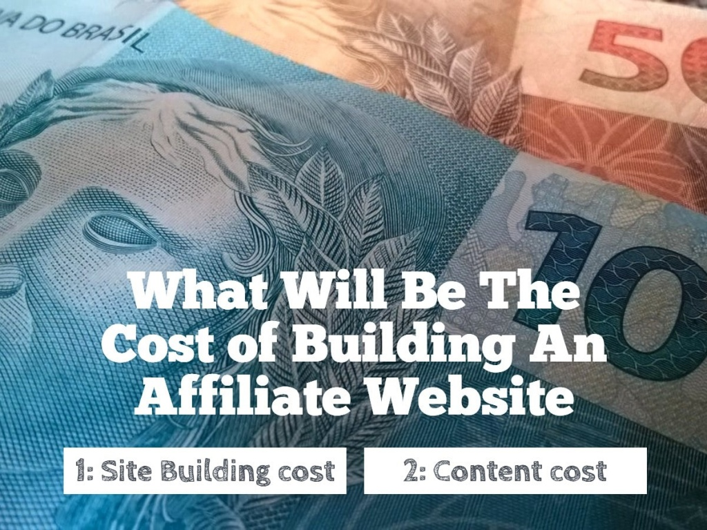Cost of Building An Affiliate Website