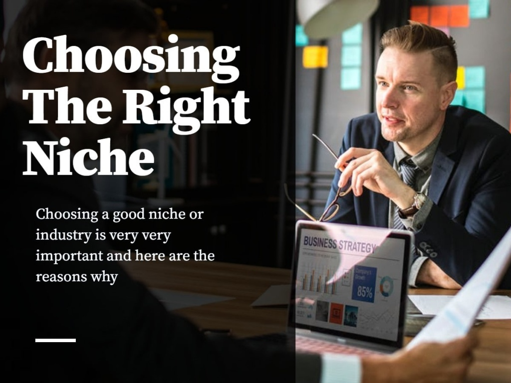 How To Choose A Good Niche